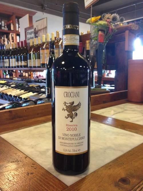 Crociani Vino Nobile Di Montepulciano DOCG Riserva 2010