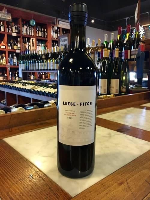 Leese-Fitch Cabernet Sauvignon 2015