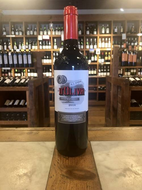 Altos d'Oliva Tempranillo 2016