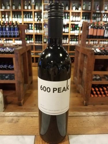600 Peak Cabernet Sauvignon 2018