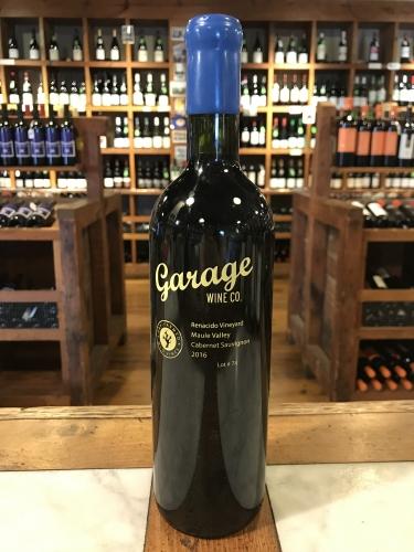 Garage Wine Cabernet Sauvignon 2016