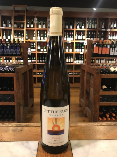 Bet the Farm Riesling 2018