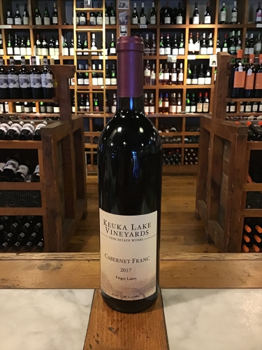 Keuka Lake Vineyards Cab Franc 2017