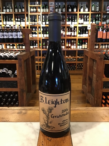 B Leighton Gratitude Olson Brothers Vineyard 2017