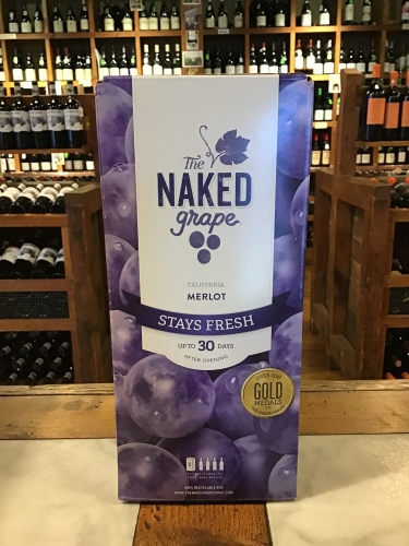 Naked Grape Merlot BOX NV