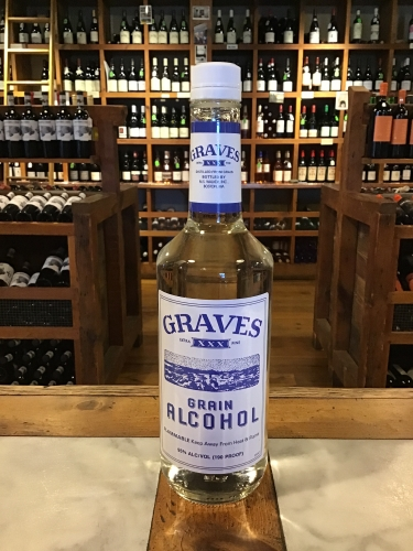 Graves XXX Grain Alcohol