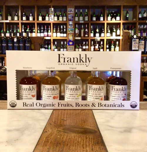 Frankly Vodka 5-pack Gift Box (50ml each)