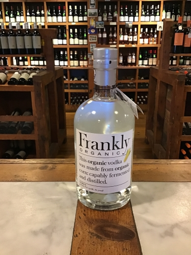 Frankly Organic Vodka