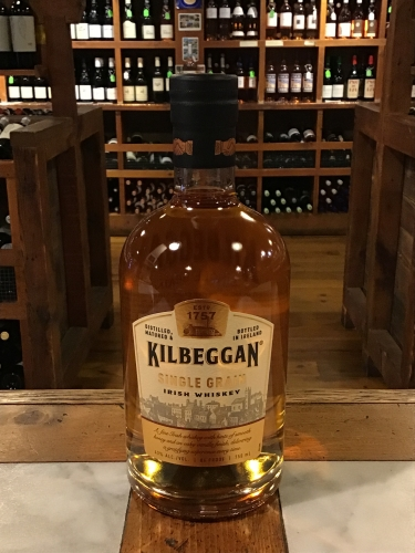 Kilbeggan Single Grain Irish Whiskey