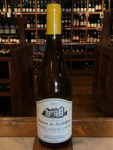 Chateau de la Greffiere Macon La Roche Vineuse Vielles Vignes 2018