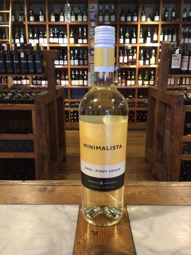 Bodega Argento Minimalista Pinot Grigio 2020