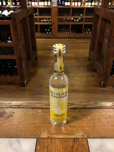 Belvedere Lemon & Basil Mini 50ml