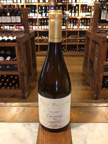 Tres Palacios Reserve Chardonnay 2020