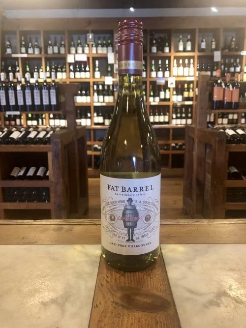 Fat Barrel Wine Company Barrelman's Select Oak Free Chardonnay 2017