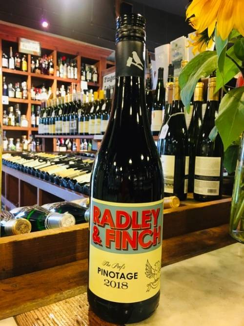 Radley and Finch the Prof's Pinotage 2018